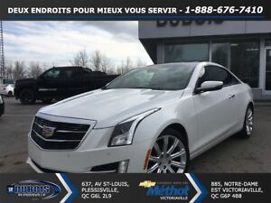 2015 Cadillac ATS 2.0L COUPE Turbo Luxury + CUIR + TOIT + GPS