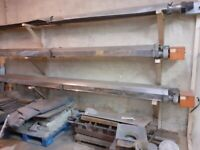 Pair of BENSON HEATING 22kw/h Commercial Industrial Radiant Tube Gas Heaters