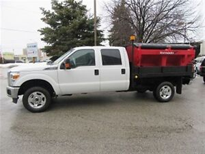 2014 Ford F-350 Crew Cab 4x4 gas with Deck / Salter
