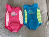 Baby wet suit 3 - 6 months. Selling separately or as a pair