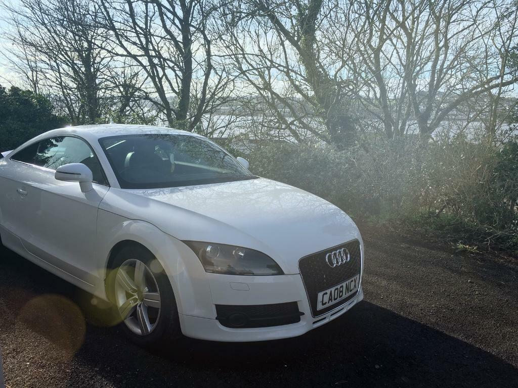audi tt mk2 white in bideford devon gumtree. Black Bedroom Furniture Sets. Home Design Ideas