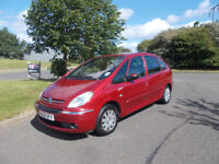 CITROEN XSARA PICASSO VTX 1.6 HDI DIESEL MPV RED 2008 BARGAIN ONLY £950 *LOOK* PX/DELIVERY