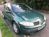 2005 Renault Megane NEW SHAPE. YEAR MOT. LOW MILES. WARRANTY