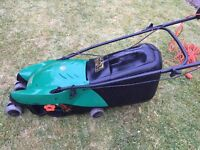 BLACK AND DECKER LAWN MOWER - USED - GF1034 34CM 1000W
