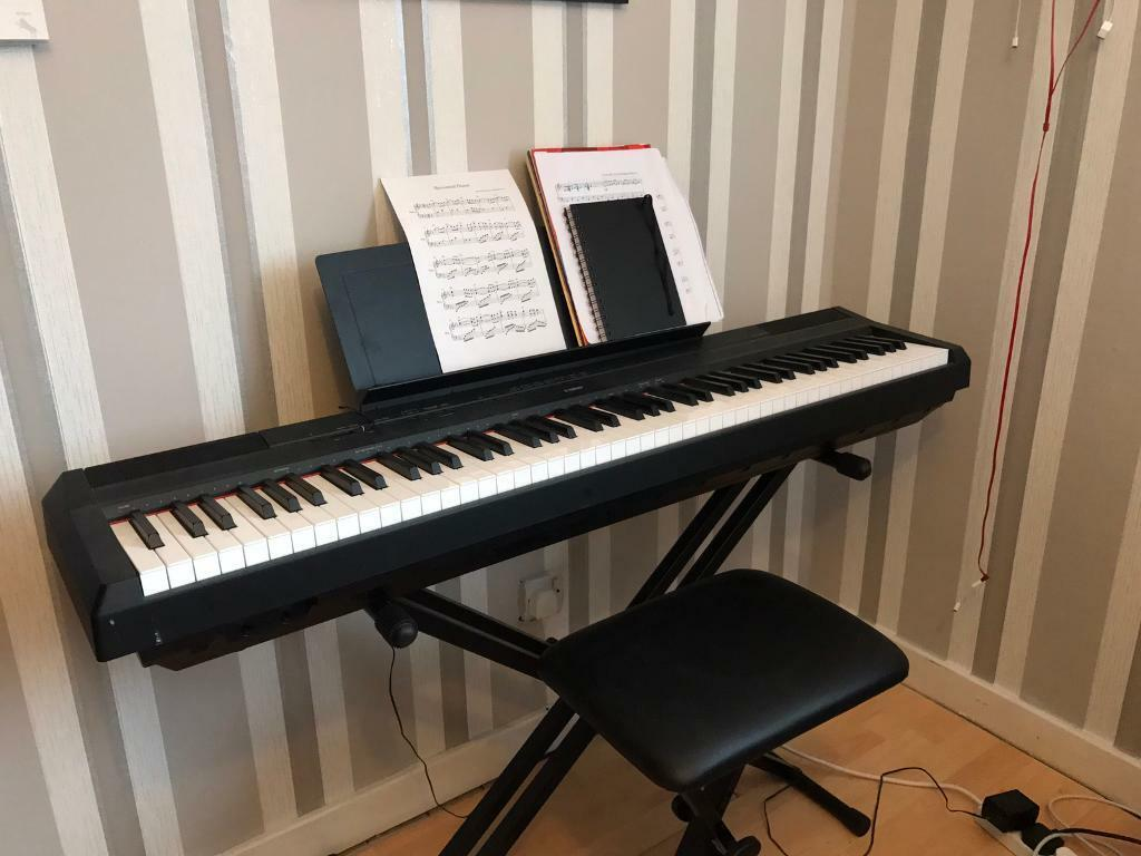 yamaha p115 digital piano stand and seat in derby derbyshire gumtree. Black Bedroom Furniture Sets. Home Design Ideas