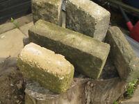 a quantity of weathered Bradstones