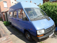 Renault Trafic (Campervan Project) only 18,000 Miles, 2nd owner from new !!