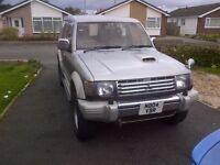 Mitsubishi pajero exceed td. lwb. auto.