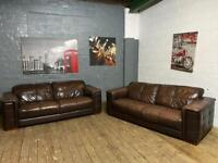 GORGEOUS REAL LEATHER SOFA SET 3+2 SEATER IN EXCELLENT CONDITION