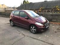 Mercedes Benz A Class Automatic 2005 spare and Repaire , None Recorded Quick Slae