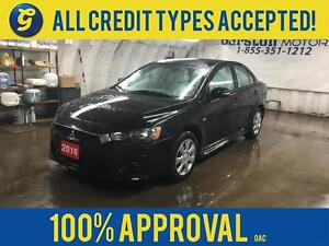 2016 Mitsubishi Lancer SE*CVT*PHONE CONNECT*HEATED SEATS*BACK UP