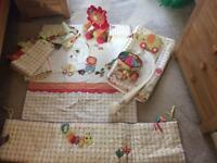 Nursery bedding set