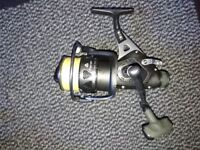 Pike fishing rod an d reel combo ONLY USED ONCE. 12ft 3lb test curve rod. Okuma trio 6500 baitrunner
