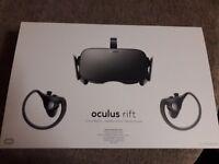 Oculus rift CV1 touch