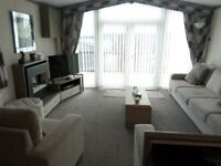 Fabulous 2013 Carnaby Chrystal Lodge for sale at Percy Wood Country Park nr Alnwick, Northumberland