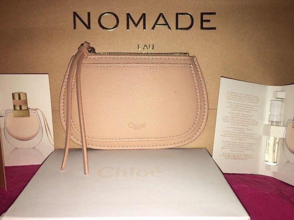 Chloe leather pouch   Chloe perfume  a3bf8727f7f36
