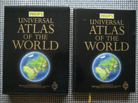 PHILIPS Universal Atlas of the World with The Royal Geographical Society - First Edition 2005 Superb