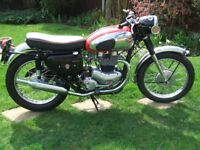 Matchless 650 CSR sports 1960 Classic motorcycle