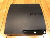 PS3 + 6 games (non-official controller)