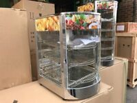 CATERING COMMERCIAL HOT FOOD DISPLAY CABINET CUISINE KITCHEN CAFETERIA CUISINE CAFE PASTRY BAKERY