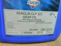 Fuchs industrial gear oil