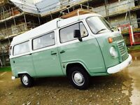 Brand new VW T2 campervan for hire