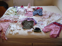 Baby Girl's Clothes Bundle - 6-12 months