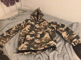 Location Camo Jacket size XL boys new.