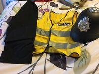 Police fancy dress outfiut. Age 3-5 years