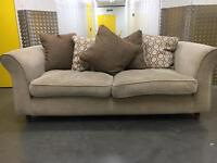 Fabric 2 seater sofa •free delivery•