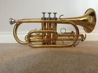 Yamaha Cornet – YCR2330III including Yamaha 11E4 mouthpiece and hard padded case.