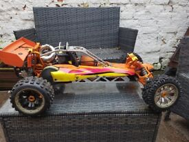 1/5th scale km rc buggy 30.5cc