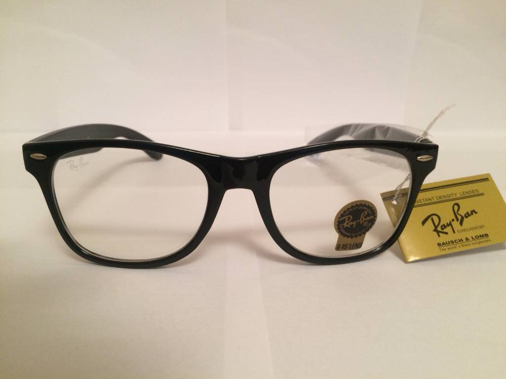 RayBan Wayfarer Clear Lens Glasses RB2140