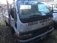 Mitsubishi canter diesel 2005 year spare parts breaking engine gearbox axel wheels doors