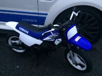 YAMAHA PW 50 CHILDRENS MOTOCROSS BIKE (2014) MODEL NEW AND UNUSED PRISTINE