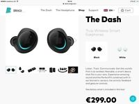 Bragi. The Dash Truly Wireless Smart Earphones Brand New