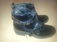 M&S Black ladies Boots