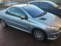 Peugeot 206cc summer car , 11months MOT great little car