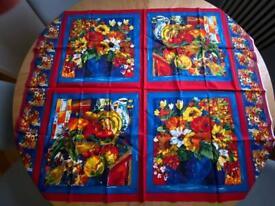 Cotton cushion fabric