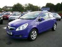 VAUXHALL CORSA 1.2i 16V Energy ONE OWNER AND FULL SERVICE HISTORY (blue) 2010