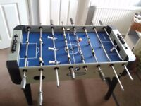 Table Football game in good condition with detachable legs for ease of transport