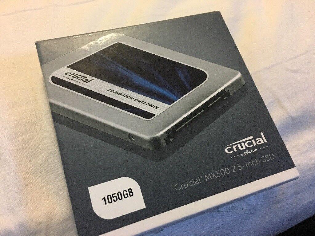 """Crucial MX300 1tb 2.5"""" SSD """"New"""""""