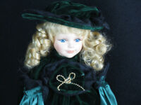 Madelaine Porcelain Doll