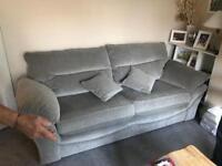 Brand new oak furniture land 3 seater sofa