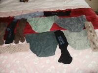 4 PAIRS GENTS BRIEFS & 8 PAIRS GENTS SOCKS