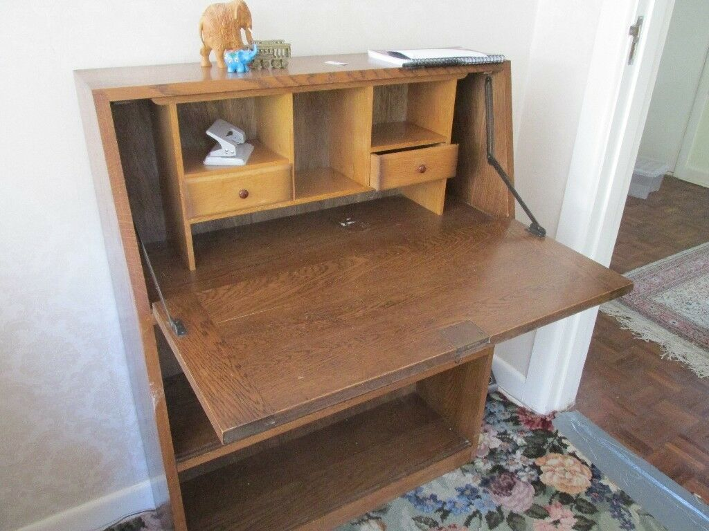 Bureau medium wood maybe s in bournemouth dorset gumtree