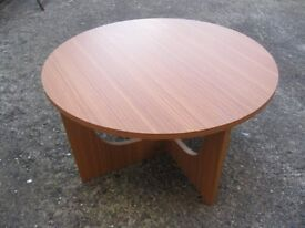 Low Circular Occasional Table