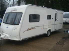 R&K CARAVANS 2007 BAILEY SENATOR ARIZONA, 12 MONTHS WARRANTY