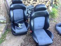 Toledo V5 Leather Alcantara Interior Golf MK4 BORA LEON Fabia