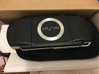 Sony Psp in box plus games